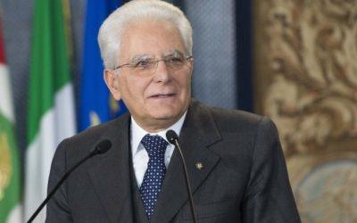 """Il Presidente Mattarella ad un'anno dell' attacco terroristico di Nizza: """"Solidarieta' e tutela convivenza """""""