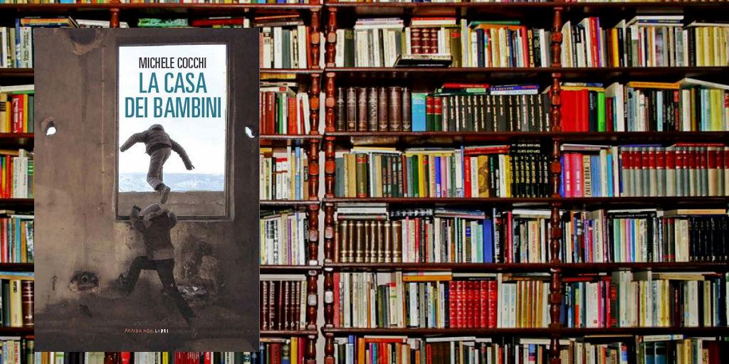 """Michele Cocchi presenta il suo ultimo romanzo """" La casa dei bambini """" alla libreria L'Orablu di Firenze"""