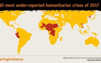 Rapporto sulle 10 crisi umanitarie di cui si è parlato meno nel 2017