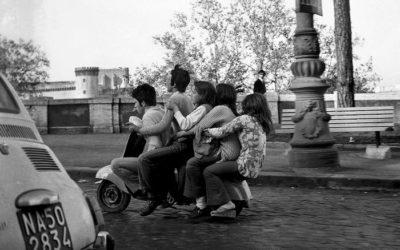 Fotografia:trasporti a Napoli 50 anni fa