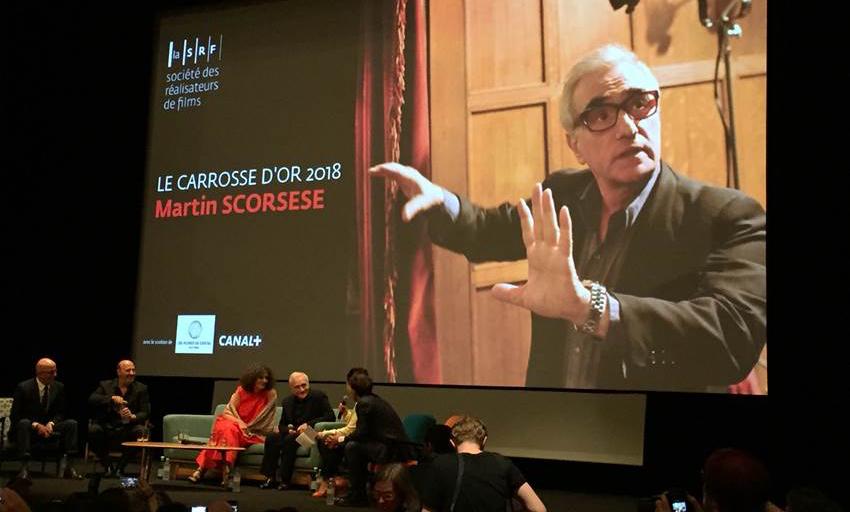 """Tutti in piedi per Martin Scorsese, """"re per una notte"""" alla Quinzaine"""