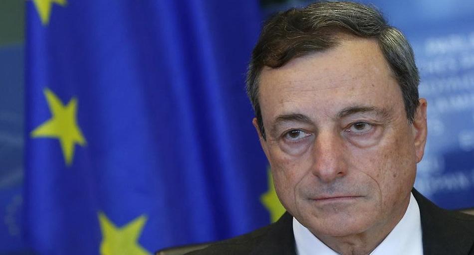 """رئيس البنك المركزي الأوروبي ماريو دراغي: """" ينبغي خفض نبرة السجال أولاً، فالحلول قابلة للعثور"""""""