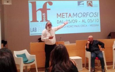جائزة مؤسسة هورتشينوس أوركا الثقافية العلمية إلى حكّاء المسرح الشعبي الصقلّي ميمّو كُتيكّيو