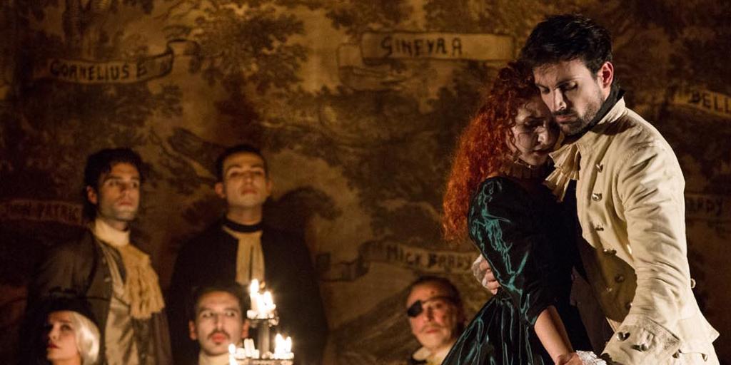 """""""Barry Lyndon"""" diretto da Giancarlo Sepe al teatro della Pergola di Firenze"""