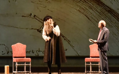 Al teatro della Pergola per un'intervista impossibile con Leonardo Da Vinci