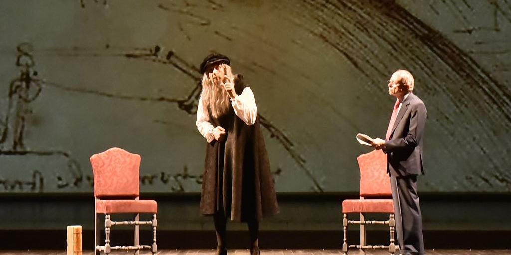 «أن تكون ليوناردة دا ڤينتشي » لأمسية واحدة على خشبح مسرح «لا پيرغولا» في فلورنس