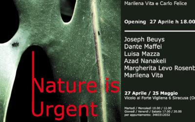 """Nature is Urgent"", Joseph Beuys e altri 5 artisti in mostra all'isola di Ortigia a Siracusa"