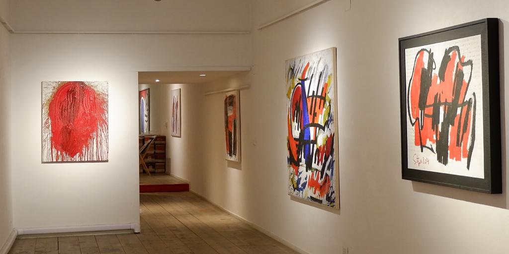 Hermann Nitsch e Karl Stengel, due artisti nati sulle rive del Danubio alla galleria Zetaeffe di Firenze