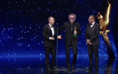 """الأوسكاري  روبيرتو بينينّي: """"نحن الشعب الأكثر إبداعاً في العالموتيم بيرتون إيطاليٌ باستثناء"""""""