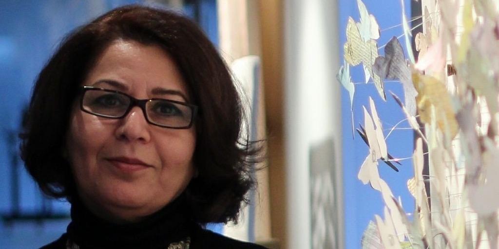 حوار مع الفنانة العراقية خلود الدعمي عن عملها التشكيلي وفيلمها الوثائقي «غابة»