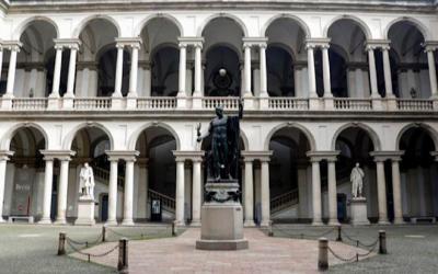 Riapre la Pinacoteca di Brera, come 70 anni fa dopo bombardamenti