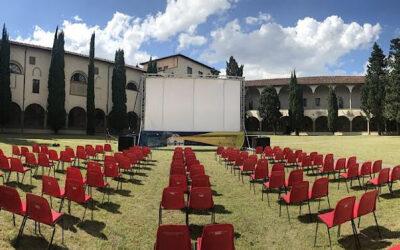 CINEMA NEL CHIOSTRO , IL TUTTO ESAURITO OGNI SERA