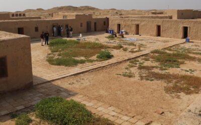 آثارية ألمانية تعشق الفانوس العراقي، وتفضّل بيت الطين على البيوت الفاخرة