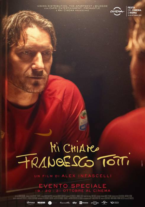 Francesco Totti nel film di Alex Infascelli